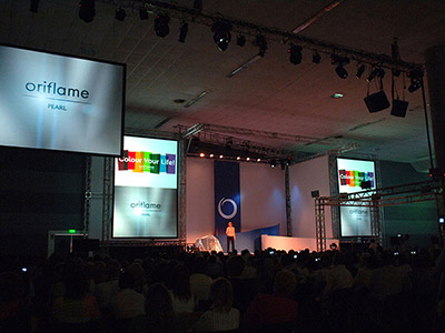CIS Gold Conference Oriflame 2005