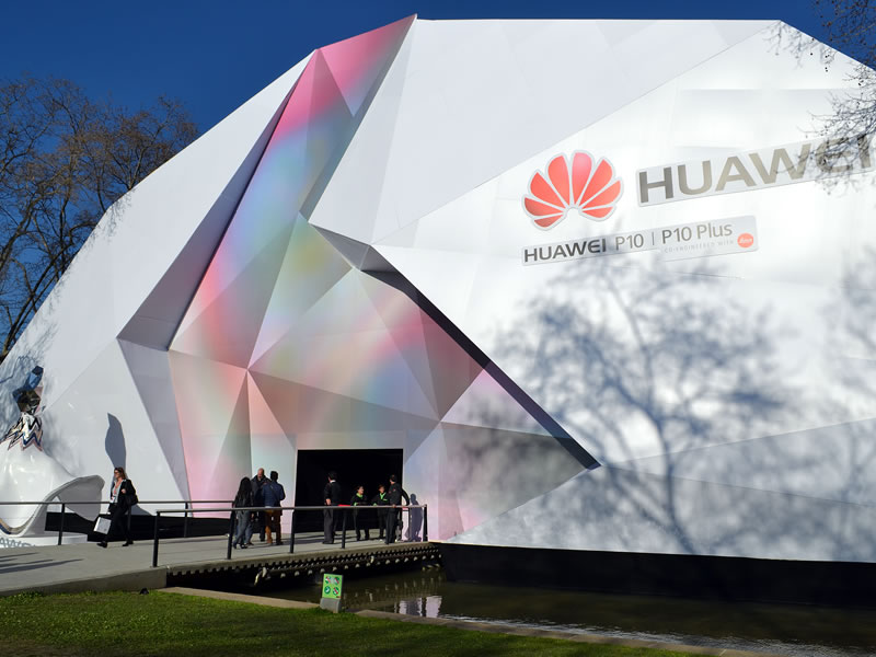 Product Launch Huawei P10 at MWC17