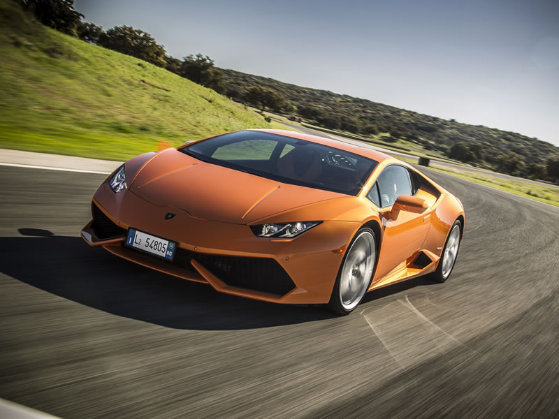 Product Launch Lamborghini Huracán 1