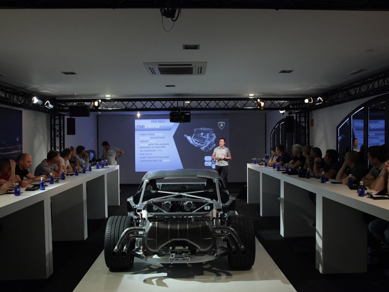 Product Launch Lamborghini Huracán 3