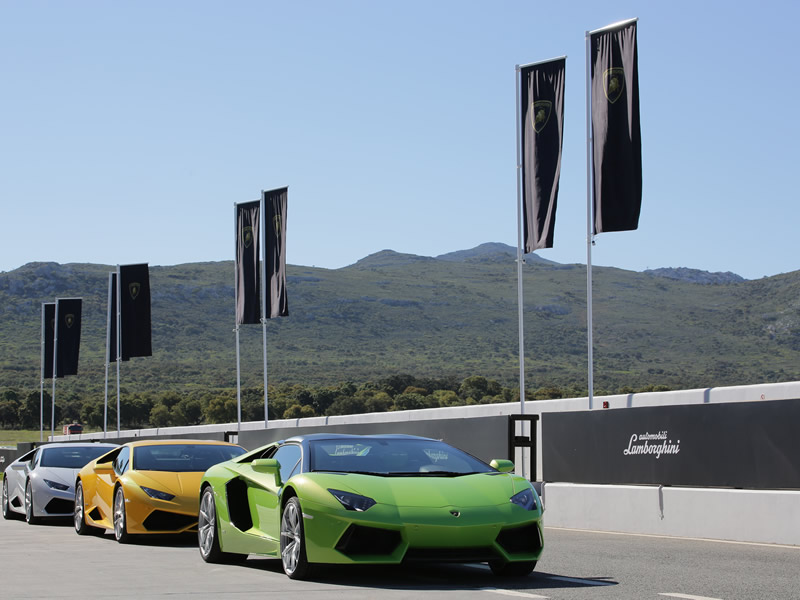 Product Launch Lamborghini Huracán 5