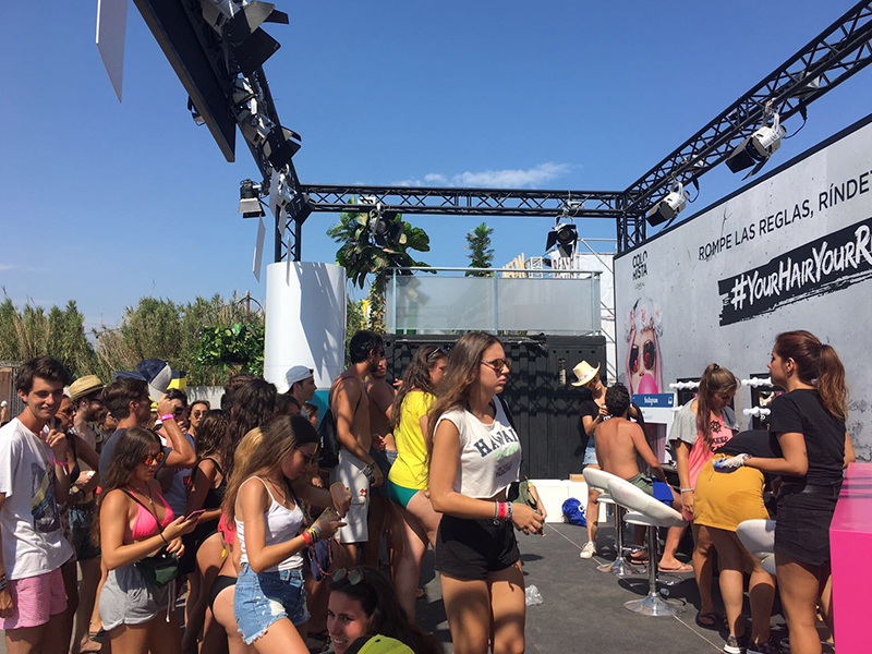 L'Oréal Arenal Sound Your Hair Hour Rules