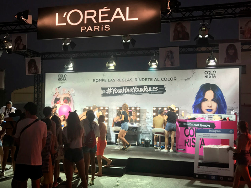L'Oréal Arenal Sound Your Hair Hour Rules 2