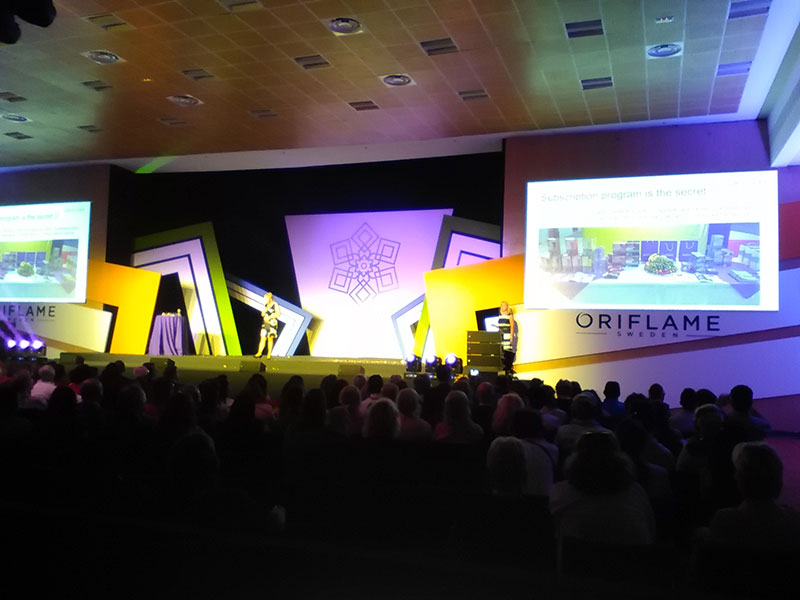 Western and Central Europe Gold Conference de Oriflame 2015 1
