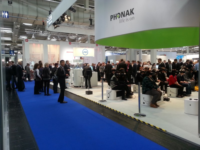 Product Launch with VR Phonak 2014 3