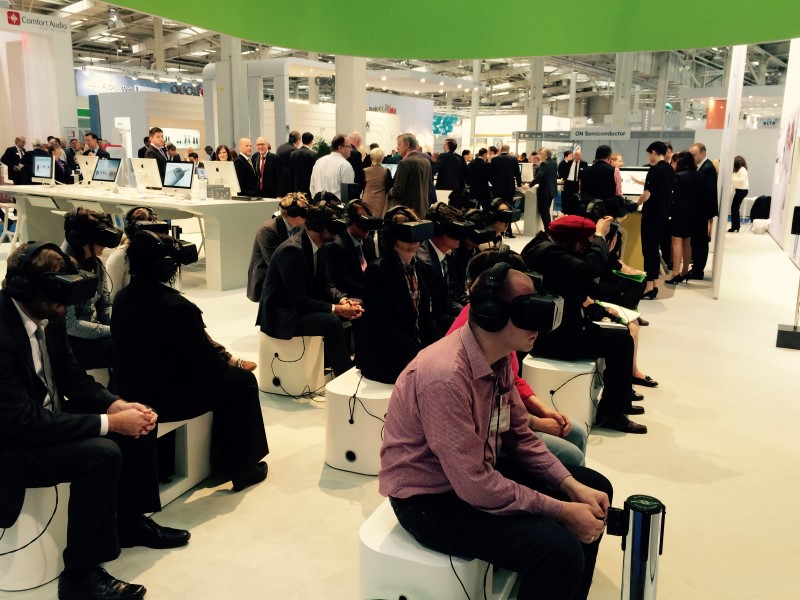 Product Launch with VR Phonak 2014 6