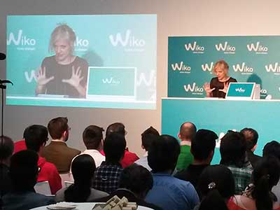 Product launch for WIKO smarthphones