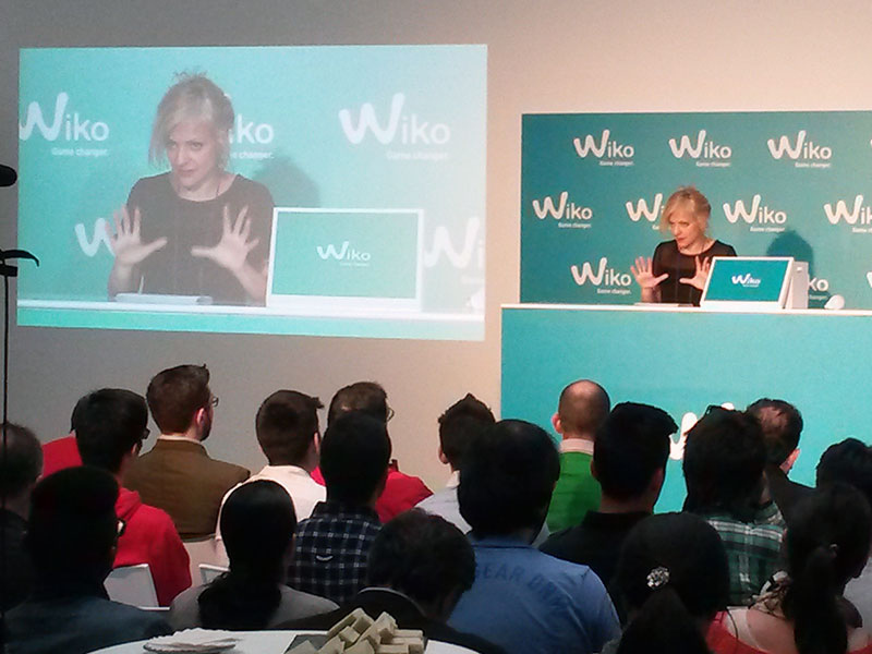 Product launch for WIKO smarthphones 2