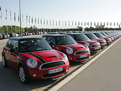 International product launch Mini Cooper S
