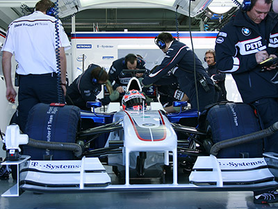 Worldwide product Launch BMW Sauber