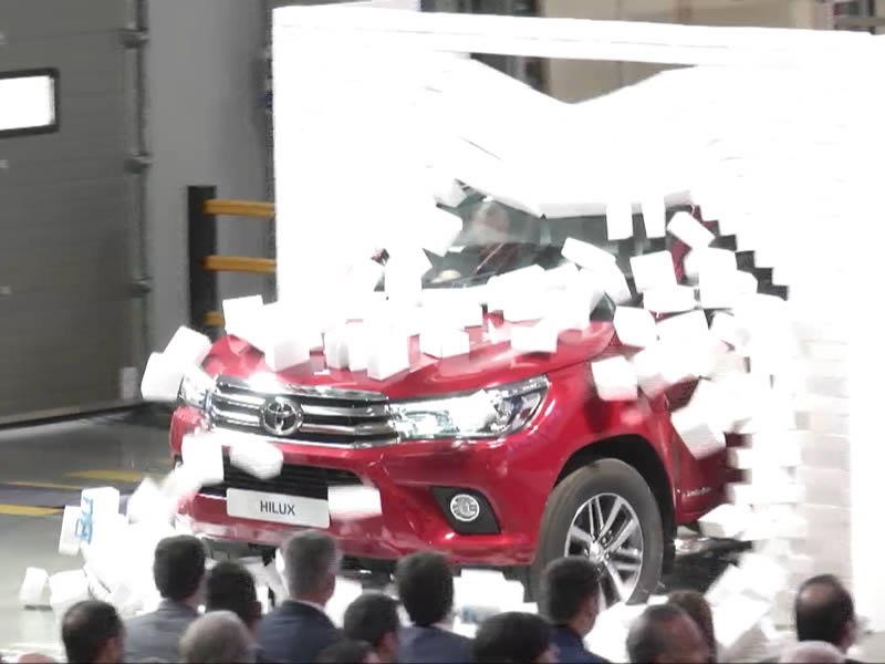 Commercial cars launch for Toyota 3