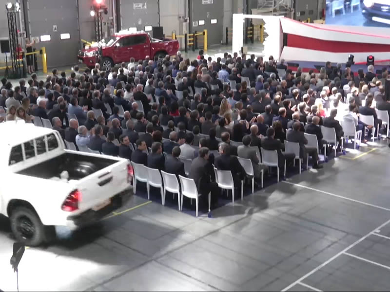 Commercial cars launch for Toyota 4