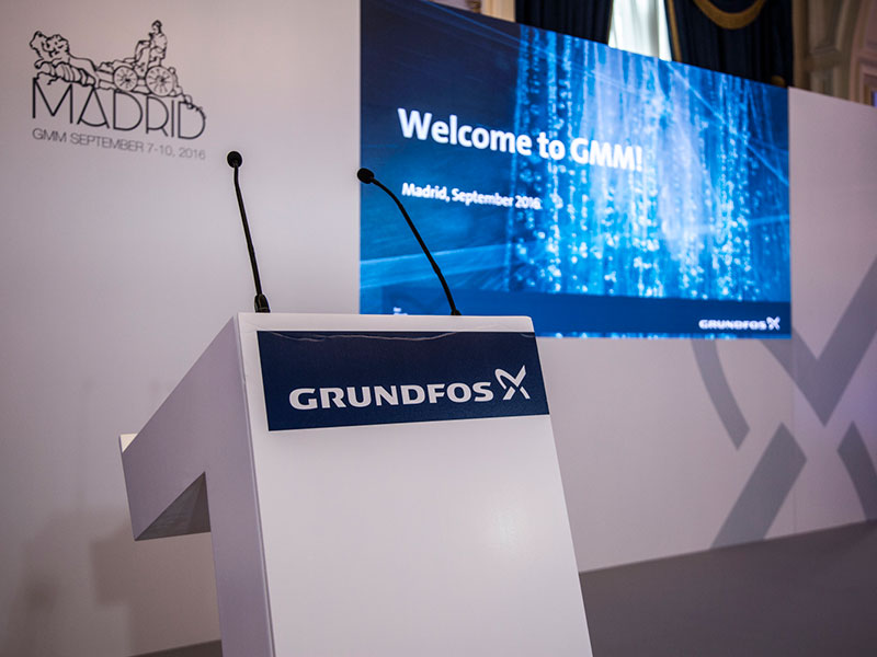 Anual meeting for Grundfos 2