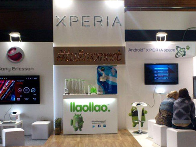Stand for Sony Ericsson at EBE 2011 1