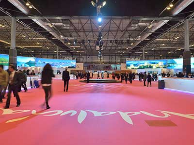 Andalucia Stand in Fitur 2016