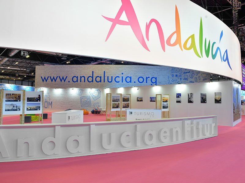 Andalucia Stand in Fitur 2016 3