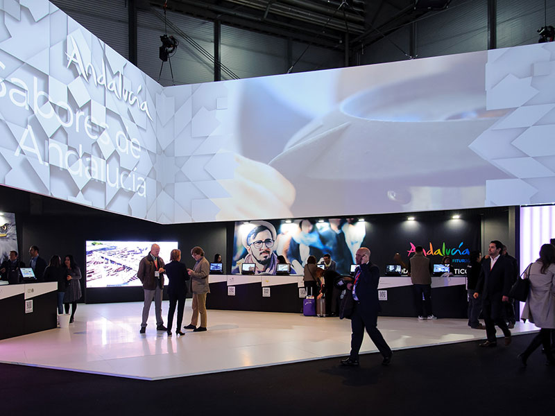 Andalusia stand FITUR 2017 3